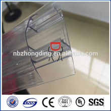100% virgin lexan polycarbonate sheet connector h and u profile
